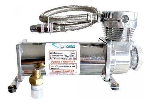 suspensão a ar com compressor gol g5/g6/g7
