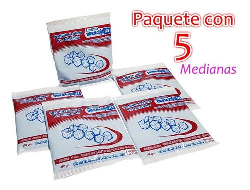 sustituto de hielo de gel kit 5 bolsas chico envío gratis