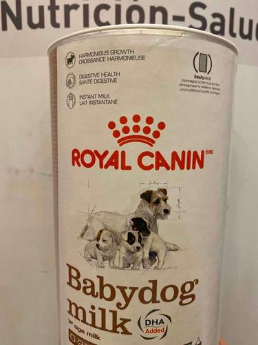 sustituto de leche babydog milk 400 gr royal canin.