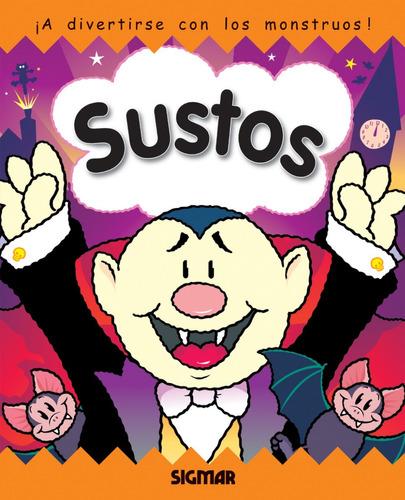 sustos - colección trébol - cuentos infantiles