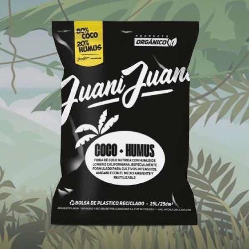 sustrato fibra de coco + humus 80/20! eco amigable