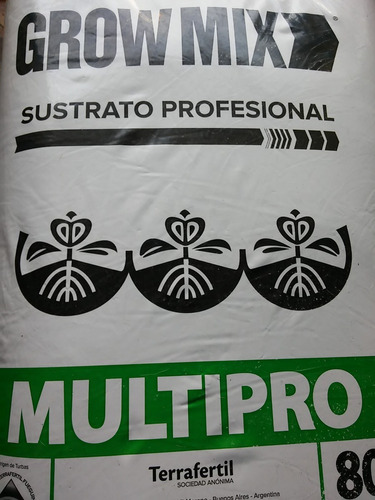 sustrato grow mix multipro  tierra  growshop growprofarg