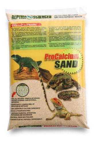 sustrato premium para reptiles y anfibios - procalcium sand