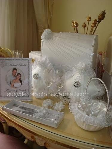 susydecoraciones: boda,15 años, baules, cojines, zapatillera