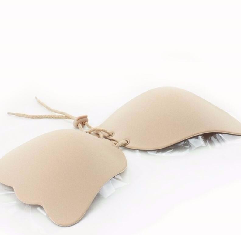 b44a0e0dbc239a Sutiã Adesivo De Amarrar Para Usar Vestido Tule Transparente
