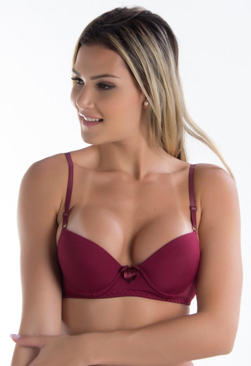 5a57bfd00 sutiã com bojo microfibra lingerie soutien moda intima 034. Carregando zoom.