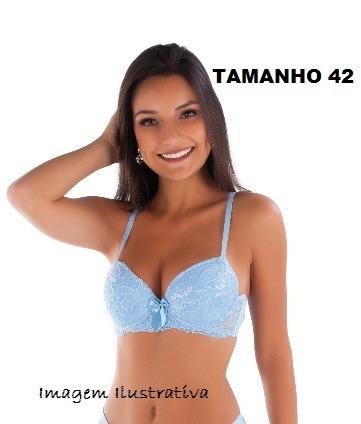 8e76b6498 Sutiã De Renda Azul