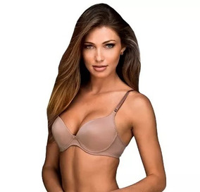 0aa066c8a Sutiã Super Up Desejo Demillus - Sutiãs Nude no Mercado Livre Brasil