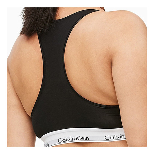 sutiã top nadador calvin klein monograma plus size mar069ps