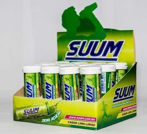 suum limão repositor isotonico eletrolítico 10 pastilhas