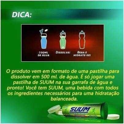 suum tangerina repositor isotonico eletrolítico 10 pastilhas