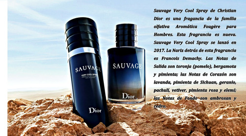 suvage very cool spray - dior - hombre - edt - 100ml