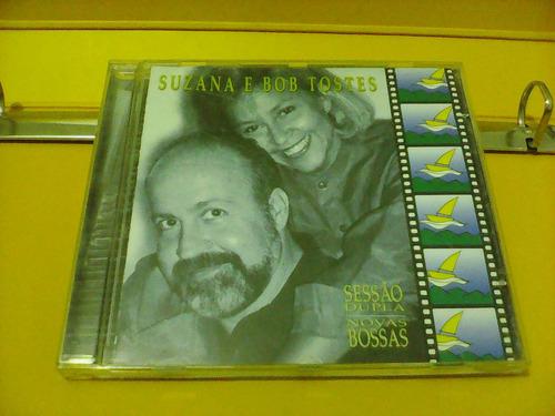 suzana & bob tostes - sessão dupla  novas bossas - cd