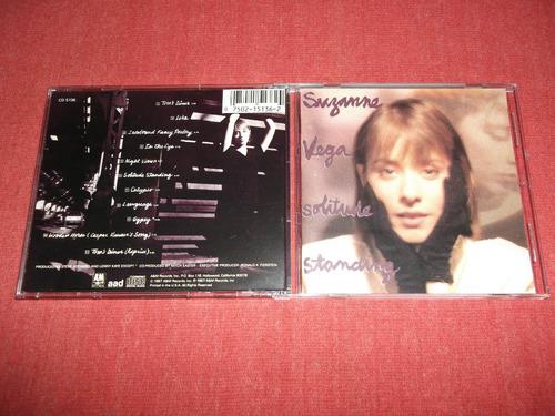 suzanne vega - solitude standing cd imp ed 1989 mdisk