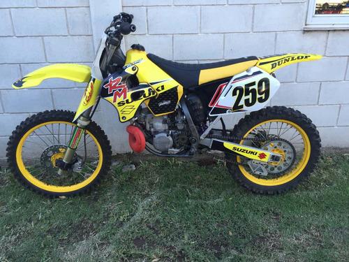 suzuki 1996 suzuki rm 250  1996