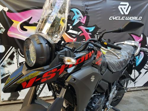 suzuki 250 v strom touring abs 0km 2018 cycle world motors