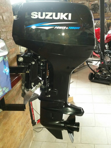 suzuki 40 hp 2t  caña