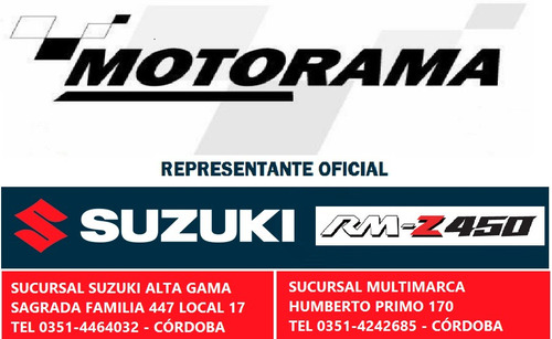 suzuki 450 moto cross