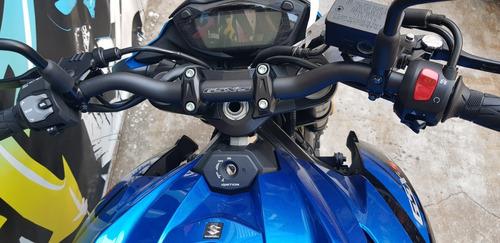 suzuki 750 gsx abs naked 0km 2019 azul y negro ya local