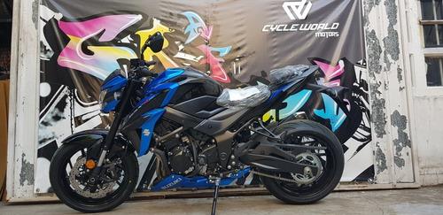 suzuki 750 gsx abs naked 0km 2019 stock ya local azul gp
