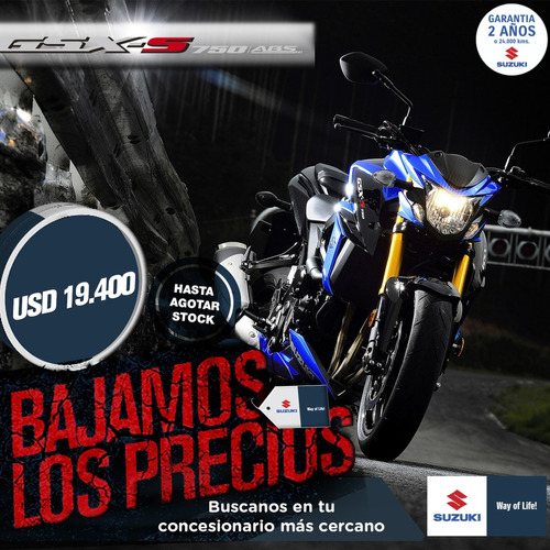 suzuki 750 gsx z abs naked 0km 2018 cycle world motors