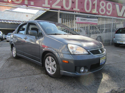 suzuki aerio 2007 2.3 gls 6 cd at gris