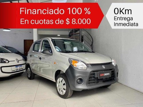 suzuki alto 0km financiado 100 %