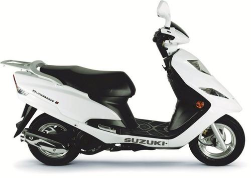 suzuki an 125 0 km