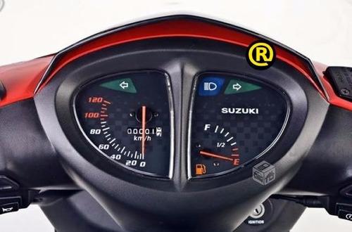 suzuki an 125 0 km año 2018