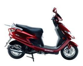 suzuki an 125 0km scooter