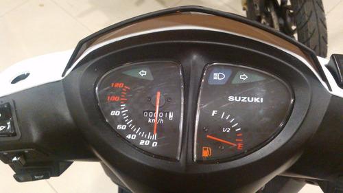 suzuki an125 2017 todos  los colores   motolandia 4792-7673