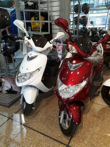 suzuki an125 scooter  0 km consulte oferta de contado!!!