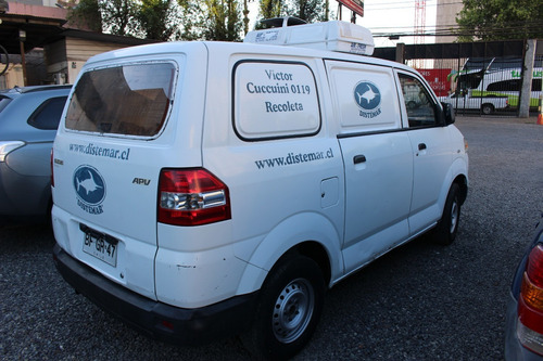 suzuki apv 2008 1.6 furgon termico equipo de frio congelados