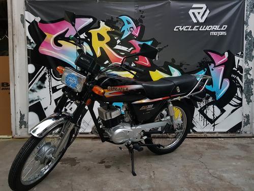 suzuki ax 100 0km 2018 cycle world con patente al 7/12