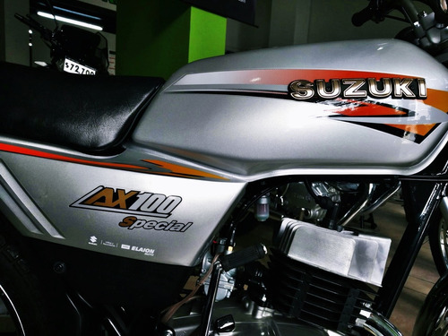 suzuki ax 100 0km credito cuotas fijas dni 100% motonet 2019
