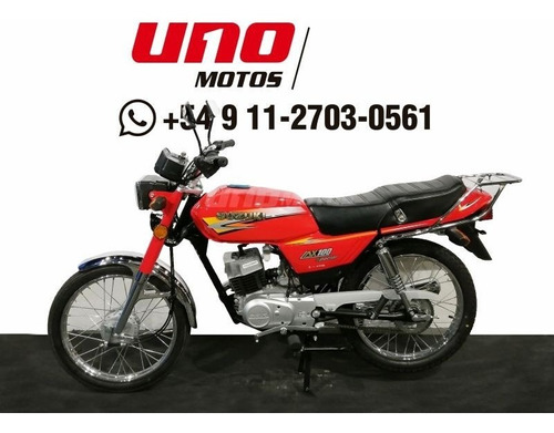 suzuki ax 100 0km oferta mayo .