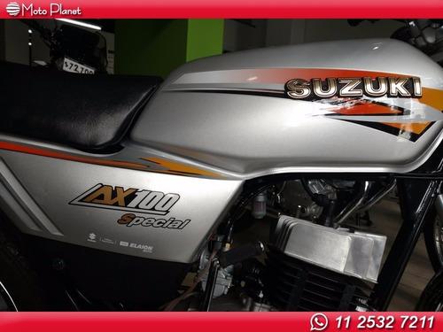 suzuki ax 100 2017 0km ahora 12 ahora 18 cuotas dni