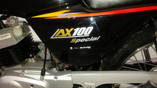 suzuki ax 100 2018  0km entrega inmediata  dbm motos