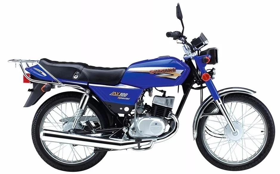 Suzuki Ax 100 2019 0km 2t - $ 43.200 en Mercado Libre