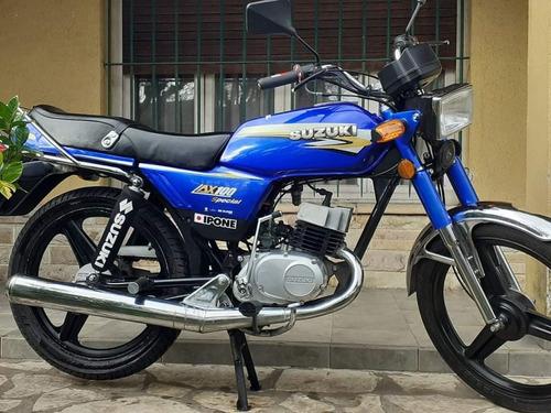 Suzuki Ax 100 - U$S 750 en Mercado Libre