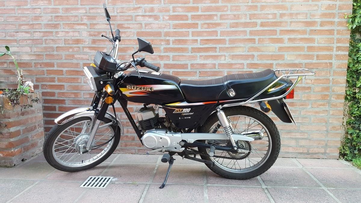 Suzuki Ax 100 - $ 40.000 en Mercado Libre