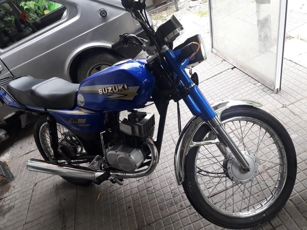 Suzuki Ax 100 - $ 58.000 en Mercado Libre