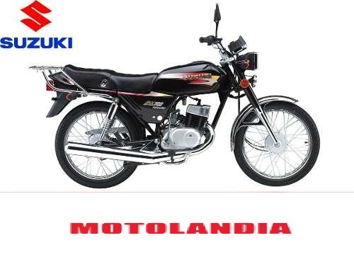 suzuki ax 100!!! motolandia.