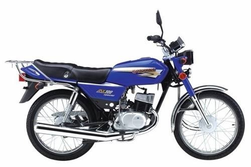 suzuki ax 100 motoroma 12 ctas $2799 consulta contado