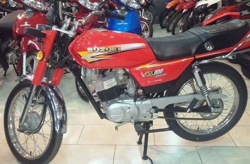 suzuki ax 100 okm lavalle motos