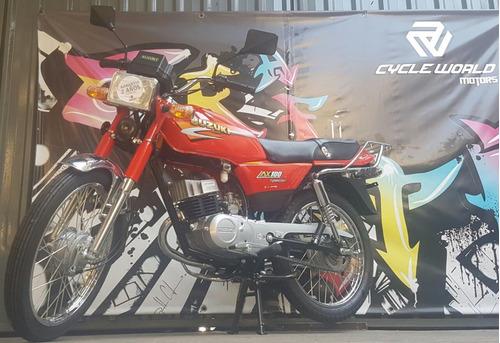 suzuki ax 100 special 0km 2020 reservala ya al  6/6