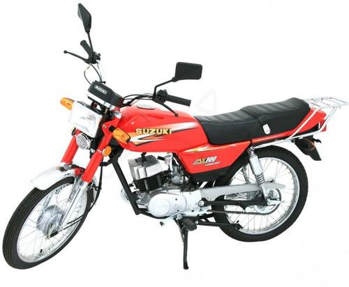 suzuki ax 100 special 0km 2t delivery dompa motos
