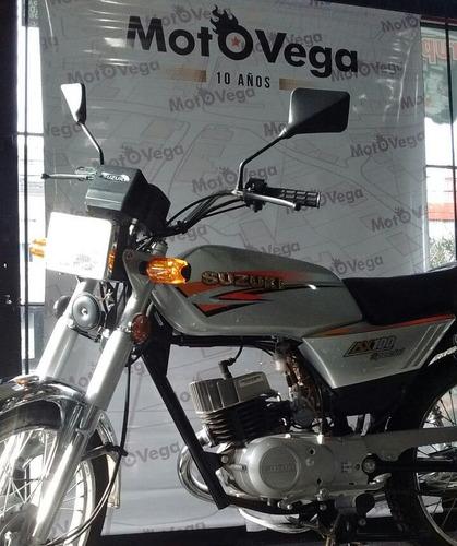 suzuki ax 100 tipo cb1 gran precio motovega tipo cafe racer