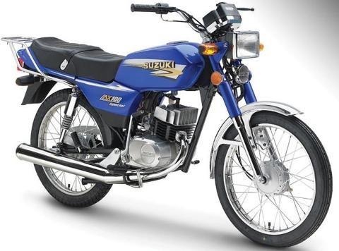 suzuki ax 100 tipo cb1  motovega tipo cafe racer