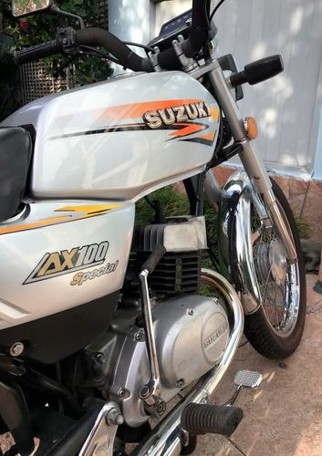 suzuki ax 100 - única!